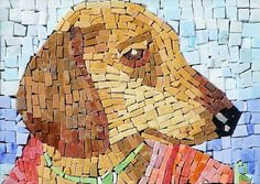 Mosaic Pet Portraits from Photo