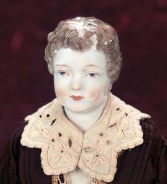 M'Lady - Margaret Hartshorn Collection: 24.1 Very Rare Superb German Porcelain Man< Model W8A,by KPM Meissen