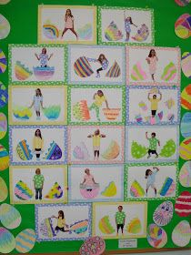 Easter Bulletin Board - God made you EGGstra special.
