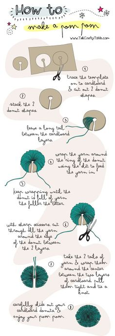 DIY Pom Pom Pictures, Photos, and Images for Facebook, Tumblr, Pinterest, and Twitter