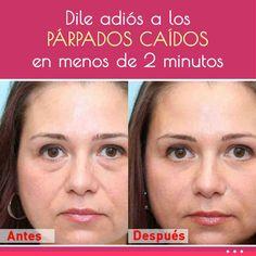 Dile adiós a los PÁRPADOS CAÍDOS en menos de 2 minutos con este truco casero Face Care, Body Care, Crema Facial Natural, Beauty Secrets, Beauty Hacks, Beauty Tips, Tips Belleza, Pilates, Brows