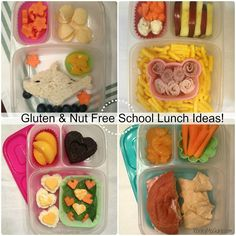 Lunch Made Easy: Gluten, Peanut, & Tree Nut Allergy Free School Lunchbox Ideas #EasyLunchboxes