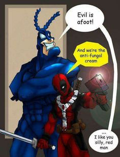 Deadpool and Tick
