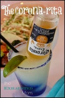 Looking for a refreshing drink? Try the Corona-rita! (and then get some chips  salsa!)