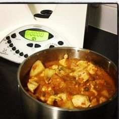 thermomix chicken and potato casserole