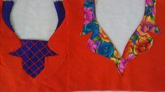 New neck designs for salwar kameez.