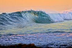 Sherbert Skies and Blue Barrels shauntokunaga Hawaii #wave #pastels