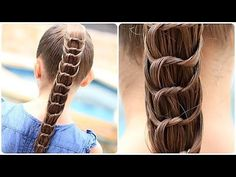 Knotted Ponytail Tutorial: Source: YouTube user Cute Girls Hairstyles