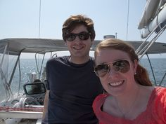 Customer Proposes During Sailing Trip With A Brian Gavin Diamond Engagement Ring.