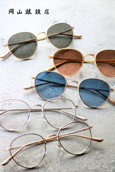OLIVER PEOPLES THE ROW BROWNSTONE 2 OPTICAL & SUMGLASSES 岡山眼鏡店 Oliver Peoples, Round Sunglasses, Round Frame Sunglasses