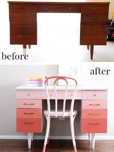 Réutilisation de vieux meubles - Relooking de meubles bricolage - Good Housekeeping