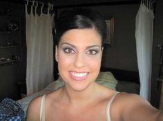 wedding day makeup. Soft purples
