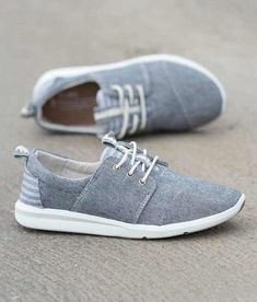 ea89808432580 TOMS Del Rey Shoe - Women s Shoes in Grey Charcoal Black