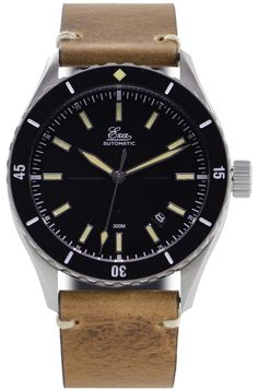 EZA Watches - Sealander Black