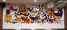 Xian's on Street 34 Street, Street Art, Graffiti, Doodles, Collaboration, Room, Bedroom, Rooms, Donut Tower