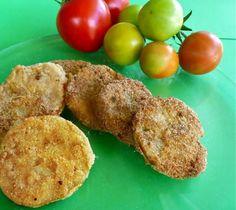 ντομάτες πράσινες τηγανητές
