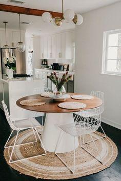 Nice 36 Inspiring Dining Room Rug Design Ideas