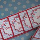 Fiestas temáticas - Mesas dulces - fiestas personalizadas, sobres de arpillera