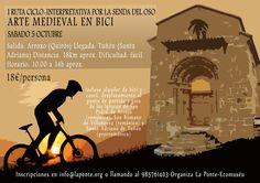 I Ruta ciclo-interpretativa por la senda del oso, arte medieval, (Quirós, Asturias) sábado 5 de octubre de 2013