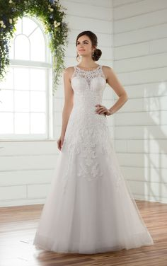 Bridal Gown Available at Ella Park Bridal | Newburgh, IN | 812.853.1800 | Essense of Australia - Style D2391 in size 22