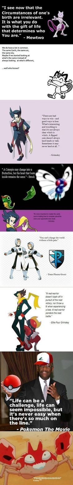Pokemon quotes.