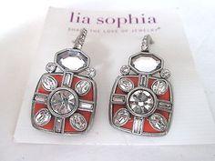 Gorgeous red carpet lia sophia earrings, look