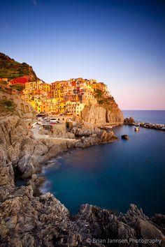 Manarola in The Cinque Terre, Liguria Italy. © Brian Jannsen Photography