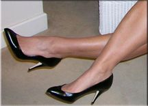 Nothing beats feminine, classic shoes. I'm not into the clunkers that many women wear.