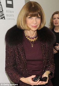 Anna Wintour, Editor, Vogue.