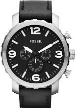 Mens Fossil Nate Chronograph Watch JR1436