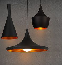 Picture 2 of 15 Ceiling Shades, Ceiling Lights, Pendant Lamp, Pendant Lighting, Metal Vintage, Tom Dixon Beat, Black Metal, Kitchen Ideas, Ebay