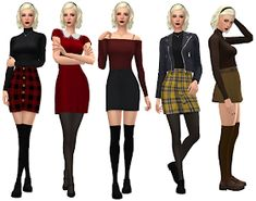 Chilling Adventures of Sabrina Outfit Sabrina Costume, Mode Gossip Girl, Looks Teen, Anita Blake, Sims4 Clothes, Sabrina Spellman, Sims 4 Clothing, Halloween Kostüm, Character Outfits