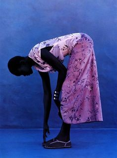 :   Alek Wek for Elle... This woman can do no wrong. It reminds me of a Kara Walker art piece. #swoons