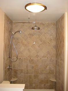 basement bathroom ideas simple - Bathroom Ideas Inc : Bathroom Ideas Inc Small Basement Bathroom, Small Bathroom Interior, Small Bathroom Tiles, Bathroom Tile Designs, Simple Bathroom, Bathroom Styling, Bathroom Ideas, Master Bathroom, Hall Bathroom