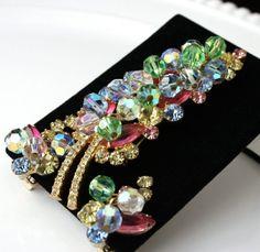 SALE Vintage Juliana Jewelry Rhinestone Beaded by delightfuljewels, $54.00