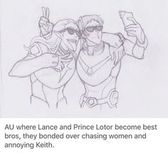 guys guys, it's been announced that lotor is not as evil as his father