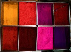 Hues of red, orange and purple