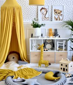 Nursery Room, Kids Bedroom, Yellow Kids Rooms, Baby Room Design, Childrens Room Decor, Baby Boy Rooms, Girl Room, Home, Ideas