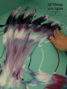 How To Create An Aura Blast Design With Unicorn Spit #SPiTChallenge