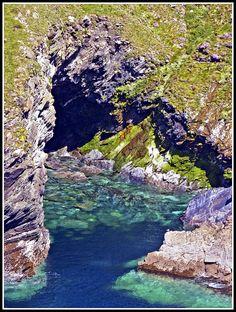 Tintagel Cave, Cornwall