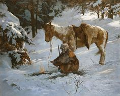 Howard Terpning - SMALL COMFORT -  LIMITED EDITION PRINT Published by the…