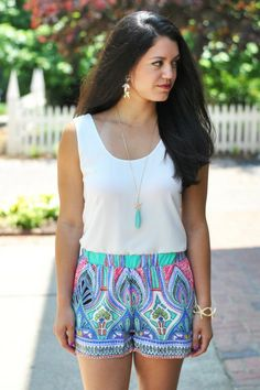 Get Out of Town Shorts - $34.50