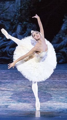 Misty Copeland as the Swan Queen, Odette, in ABT's Swan Lake Ballet (2018)