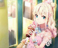 e-shuushuu kawaii and moe anime image board Moe Anime, Kawaii Anime Girl, Manga Anime, Anime Art, Anime Girls, Manga Girl, Blondes Anime Girl, Beautiful Anime Girl, Kawaii Cute