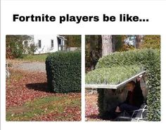 Every fortnite player ever