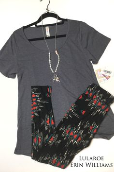 Classic T with Leggings. Join my VIP page to shop. https://www.facebook.com/groups/LularoeErinWilliams1/