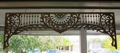 """Colonial Antique Mall - Fretwork/Gingerbread FRETWORK 72"""" X 24"""" $1,495.00 2 of 36"""