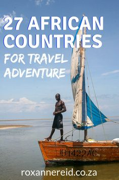 Africa has it all - adventure activities, safaris, deserts, rivers and snow-capped peaks. Discover 27 of the best African countries to visit for travel adventure. Africa Travel, Ethiopia Travel, Kenya Travel, Morocco Travel, West Africa, South Africa, Africa Destinations, Wildlife Safari, Countries To Visit
