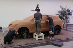 Nissan Qashqai Clay Modeling