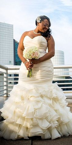 chic plus size wedding gowns 3